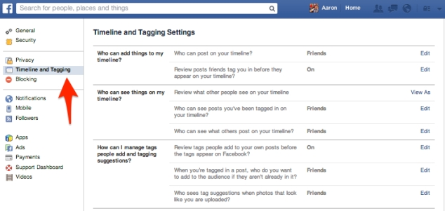 Facebook_Timeline_and_Tagging_Settings